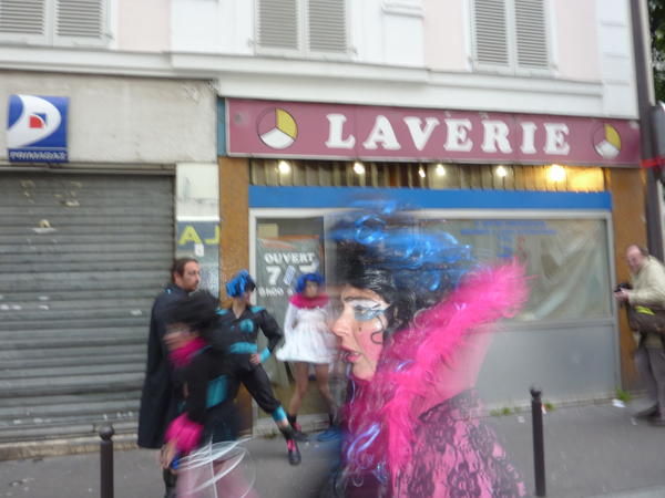Miss Trash en laverie